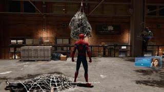 Marvel's Spider-Man gameplay fight