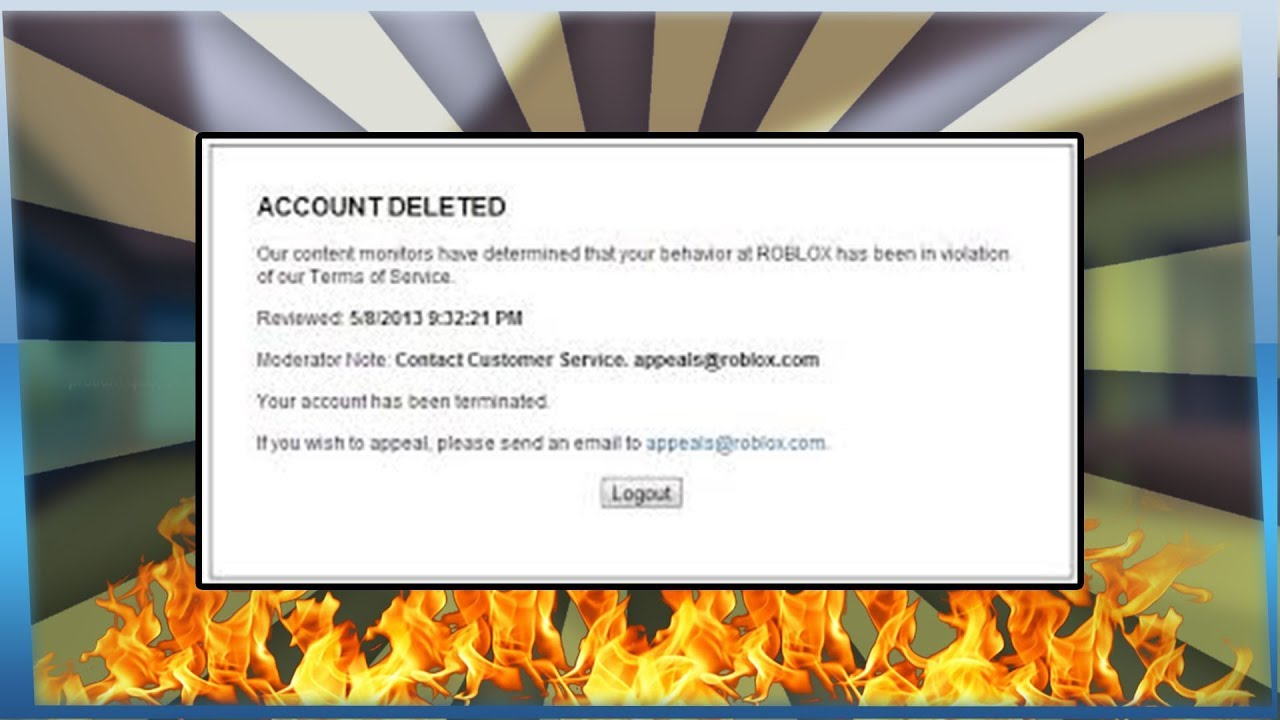 Roblox Appeals Team My Roblox Account Got Banned I Appealed It Youtube