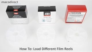 Comparing Film Reel Systems & How To Load Film (Paterson/AP/Jobo)