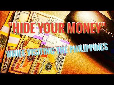 Hiding Money in the Philippines - Travel Safely