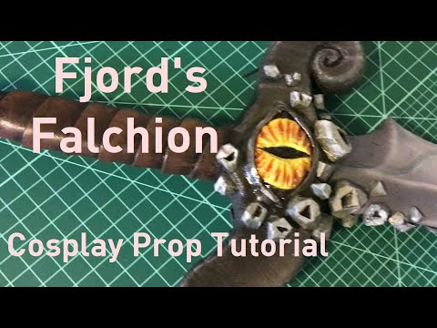 HOW TO MAKE A FOAM SWORD | Fjord's Falchion from Critical Role Tutorial
