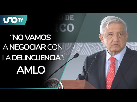 Let it be heard well and far: AMLO sends this message to crime
