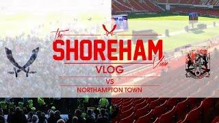 Sheffield United VS Northampton Town Away - Shoreham View Vlog