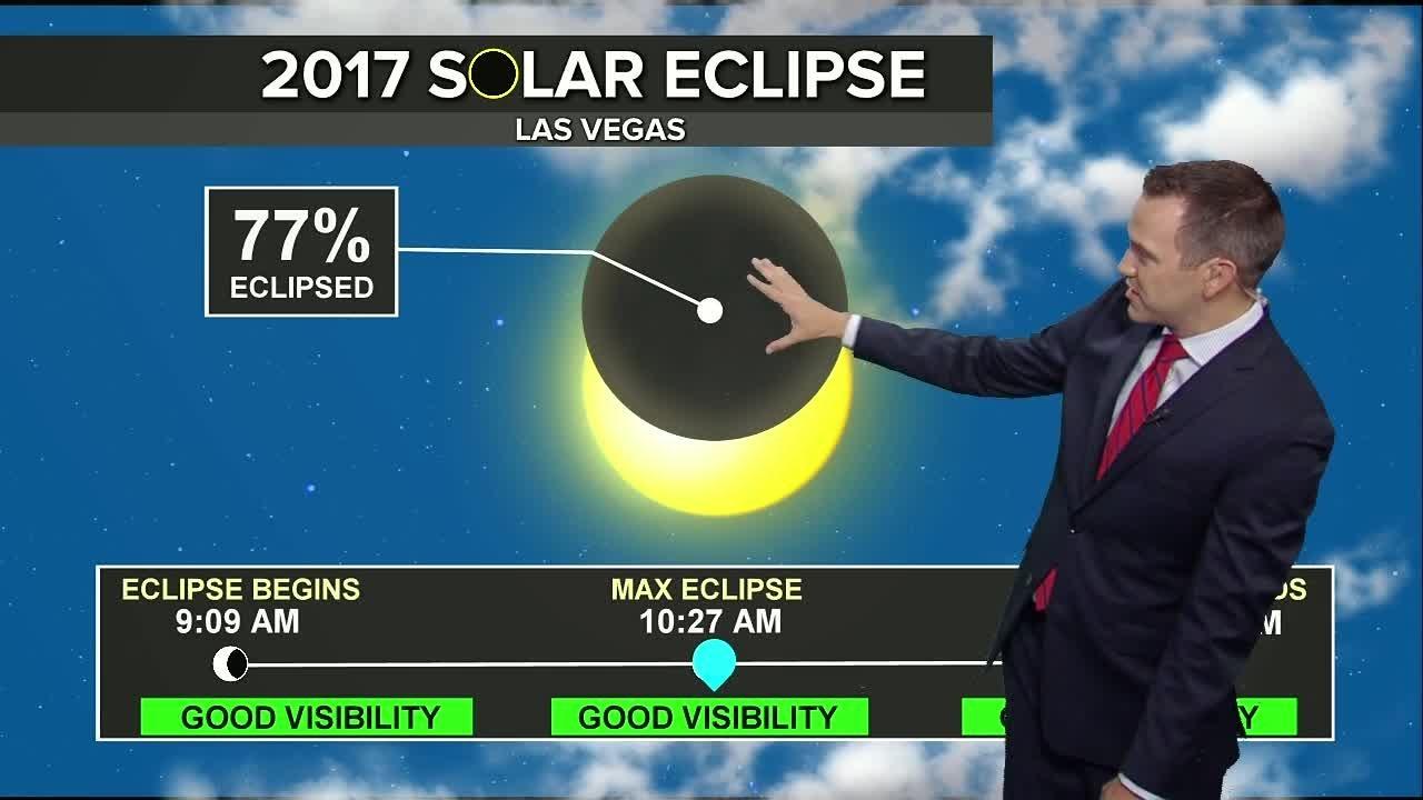 Eclipse Las Vegas >> Solar Eclipse In Las Vegas Weather Forecast As Of 8 15