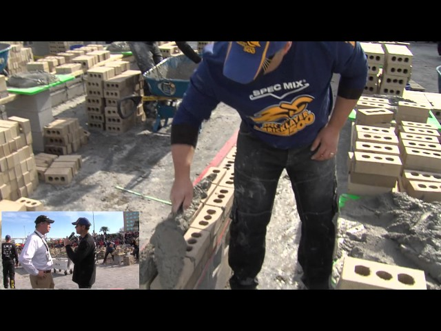 Interview with Belden Bricks at the 2017 SPEC MIX BRICKLAYER 500® World Championship
