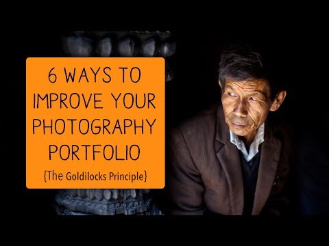 6 Ways to Improve Your Photography Portfolio