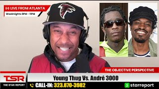 Rapper Young Thug Disrespects André 3000