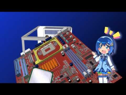Madobe Nanami's Homemade Windows 7 PC Cheerleading Commercial!!