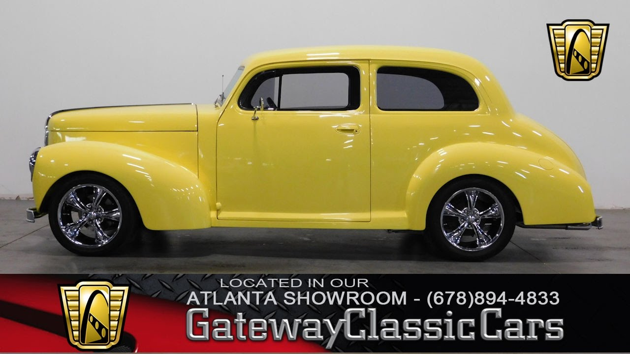 1939 Studebaker Champion Deluxe - Gateway Classic Cars of Atlanta ...