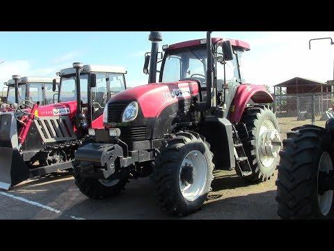 Новый колесный трактор YTO 1604 - аналог МТЗ 1523. Обзор 2017