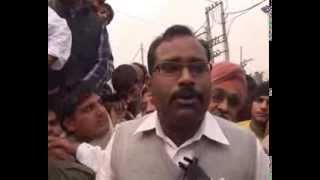 rohtak inld protest on cm house 05 byte rajiv vats victim