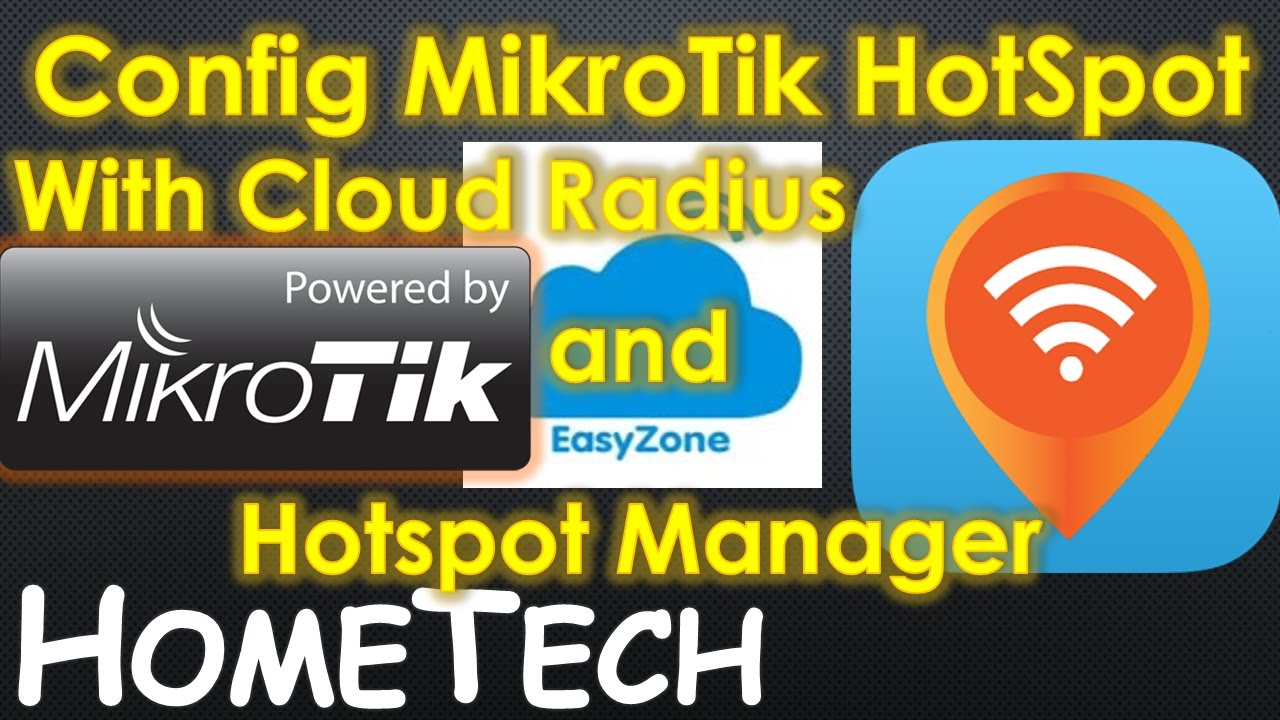 Cloud Hotspot Controller and Radius Manager Billing for MikroTik RouterOS  Configuration step by step