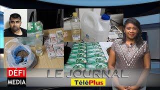 Le Journal Téléplus - L'ADSU démantèle une usine clandestine de fabrication de drogue synthétique