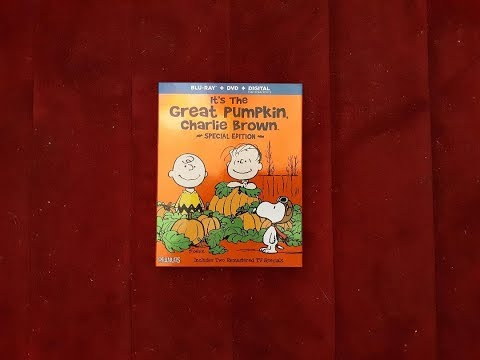 It's The Great Pumpkin, Charlie Brown Blu-ray