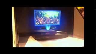 ONE 32 holographic display - Livebox Play - Orange Communication by amethys3D