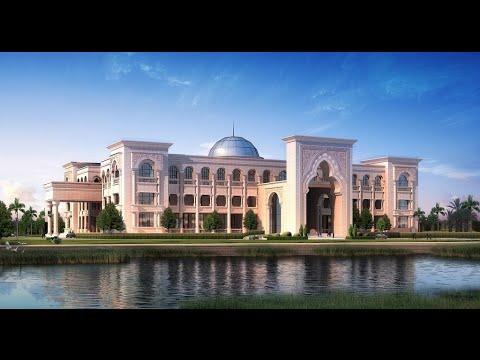 Sudan New President Palace الرئيس السوداني يفتتح قصر رئاسي جديد