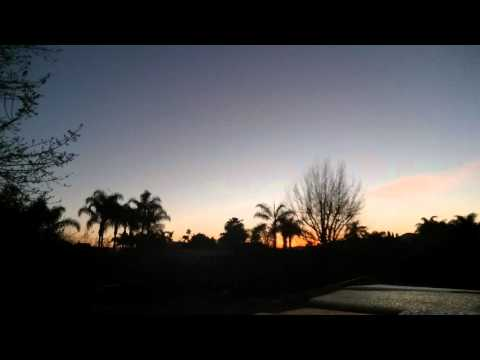 20 minute meditation sunrise San Diego relaxation