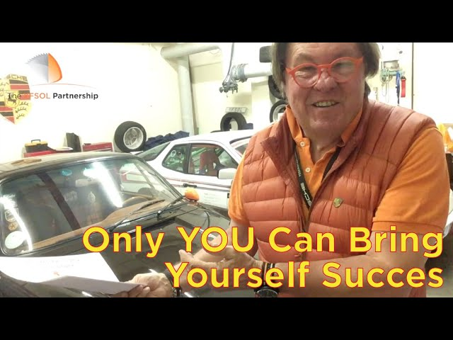 Only You Can Bring Yourself Success