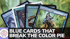 Blue Cards that Break the Color Pie | EDH | Unique Cards | Magic the Gathering | Commander
