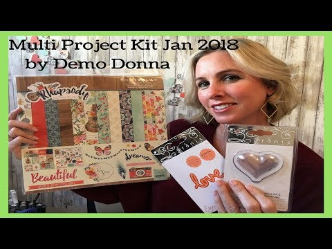 Multi Project Kit Jan 2018 by Demo Donna