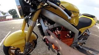 R.A.Motors - Motor Kasinski Comet 250 (parte9)