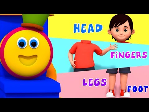Describing Parts | Learning Street With Bob The Train  | Learning Videos For Children by Kids Tv