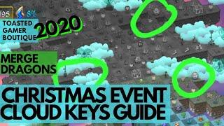 Merge Dragons Christmas Event 2021 8 Min Cloud Keys Guide Merge Dragons Oh Christmas Tree Event 2020 Youtube