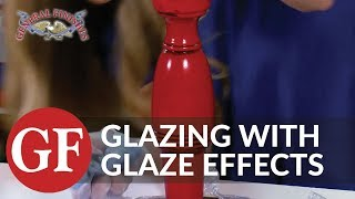How To Glaze A Table With General Finishes Glaze Effects