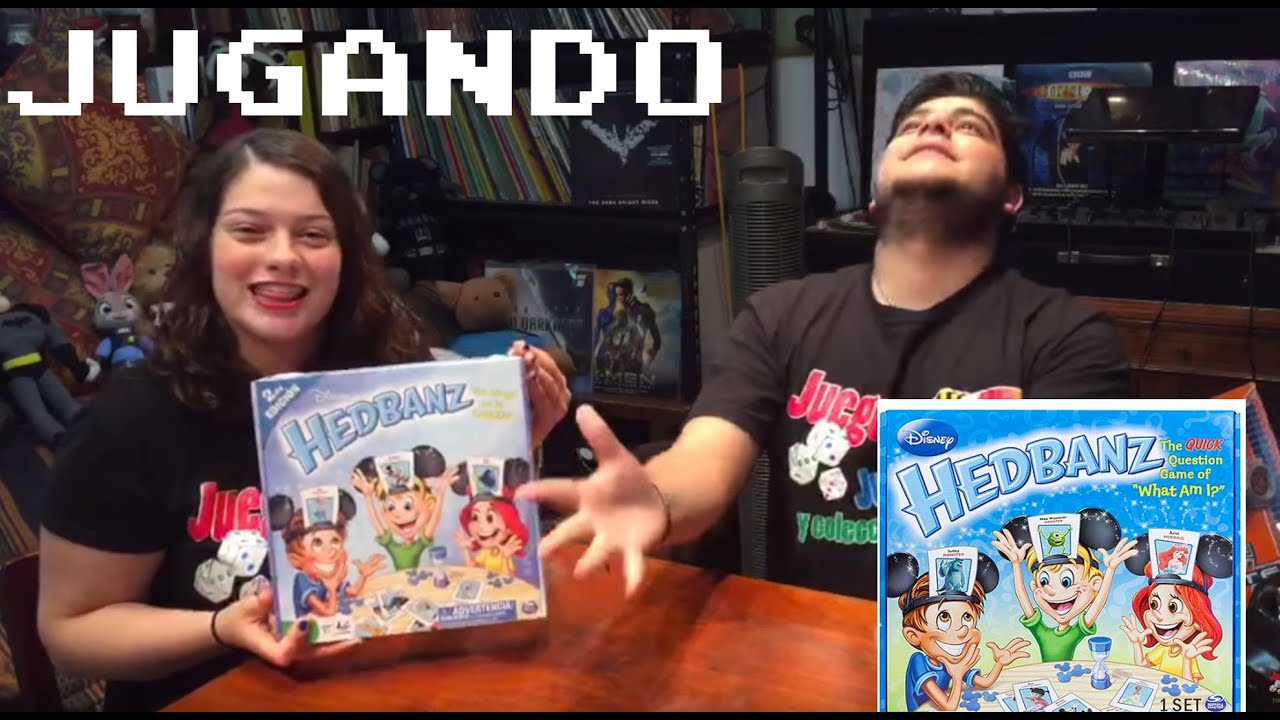 Headbanz Disney Jugando Con El Juego De Mesa De SpinMaster