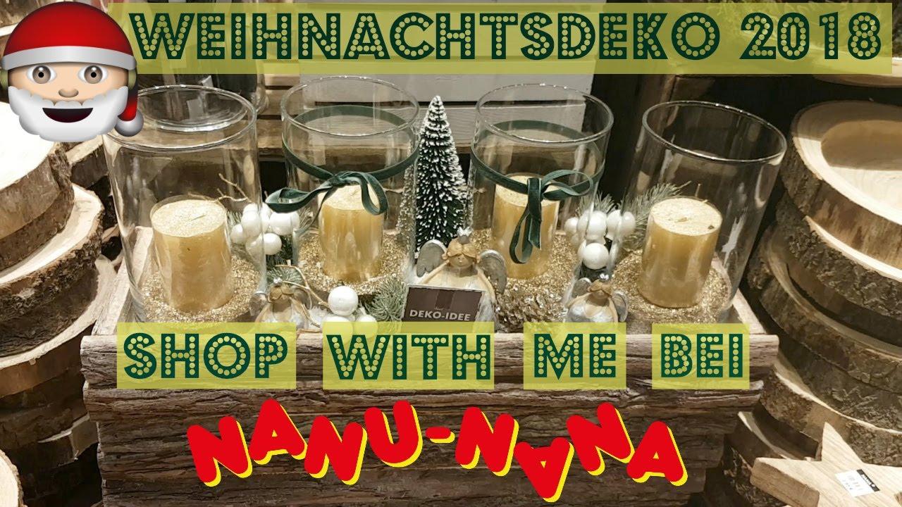 Weihnachtsdeko 2018 shop with me bei nanu nana i german christmas decor youtube - Nanu nana weihnachten ...