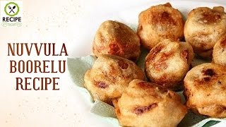 How To Make Nuvvula Boorelu | Aaha Emi Ruchi | Udaya Bhanu | Recipe | Online Kitchen