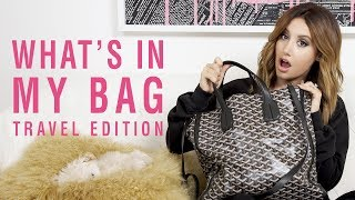 What's inMyBag| Travel Edition | Ashley Tisdale thumbnail