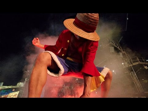 ワンピース ONE PIECE Live Attraction | Best Cosplayer | Universal