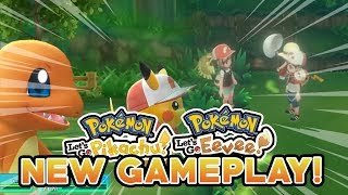 POKEMON LET'S GO PIKACHU & LET'S GO EEVEE NEW CO-OP GAMEPLAY! CO-OP PLAY MID BATTLE?