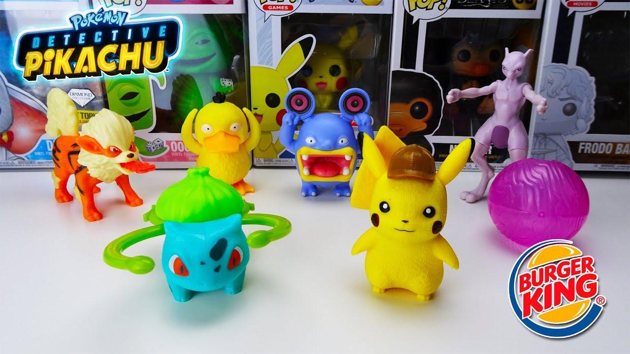 Nueva Colección De Figuras Detective Pikachu Burger
