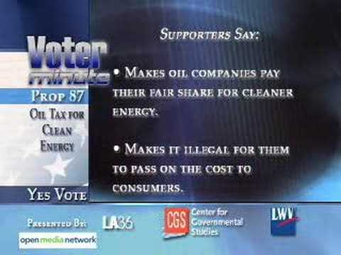 California Prop 87: Oil Tax for Clean Energy