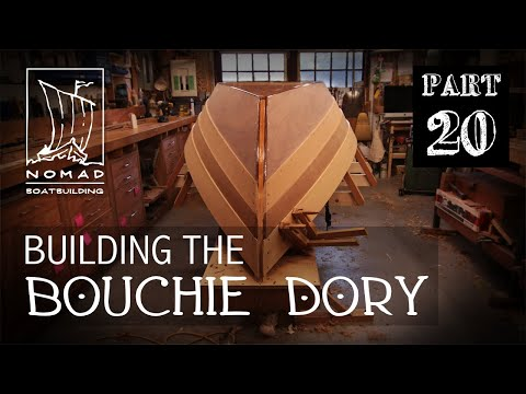 Building The Bouchie Dory Pt. 20 - Lapstrake Planking Part 3