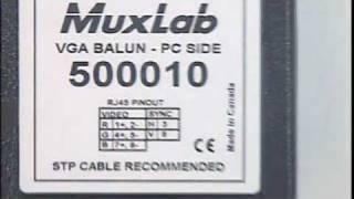 500010 MUXLAB VGA BALUN