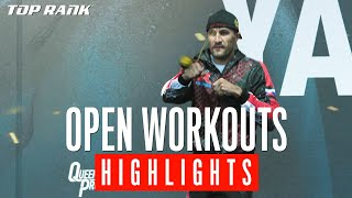 Kovalev vs Yarde: Open Workout Highlight