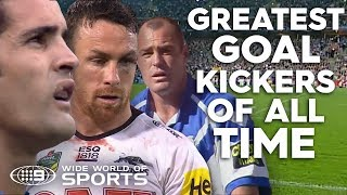Greatest goal kickers of all time | NRL on Nine