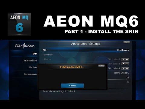 Aeon MQ6 Part 1 Install Skin
