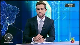 SBT Notícias (25/03/17) com Daniel Adjuto