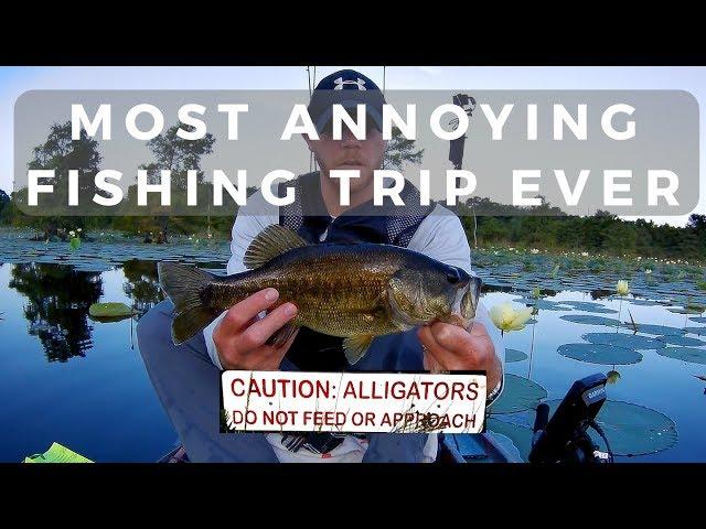 Most Annoying Trip Ever | Sheldon Reservoir Kayak Fishing