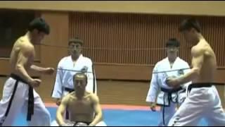 karate hard training