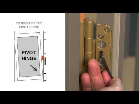 How To Adjust A Frenchwood Inswing Patio Door(Made Before 2005)