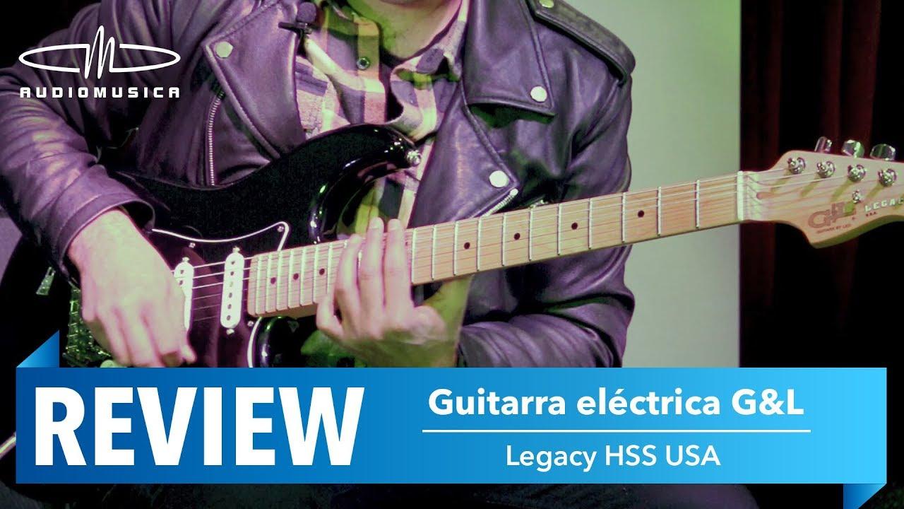 review guitarra g l legacy hss usa con fer lamas youtube. Black Bedroom Furniture Sets. Home Design Ideas