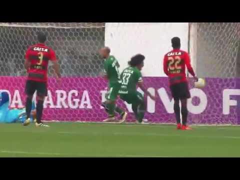 Chapecoense 3 x 0 Sport, GOLS Brasileirão 12/10/2016