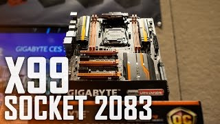 Gigabyte X99 SOC Champion Motherboard | Unlocked 2083 Socket Thumbnail