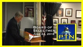 Pembroke Board of Selectmen  Disabilities Act Presentation and vote