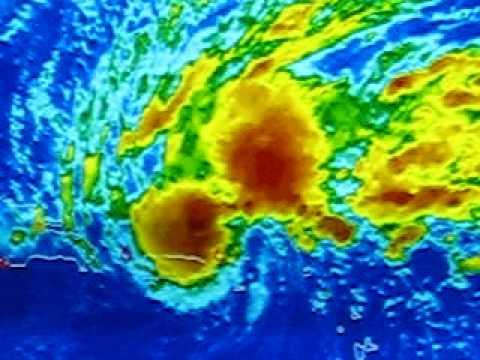 Sub - Tropical Storm Olga 2007 ( Rainbow Satellite )